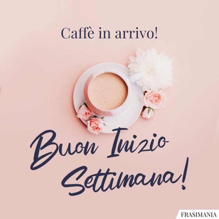 Buon inizio settimana caffè