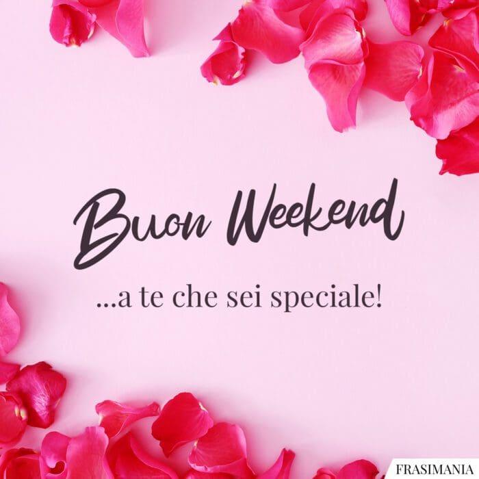 Buon weekend speciale
