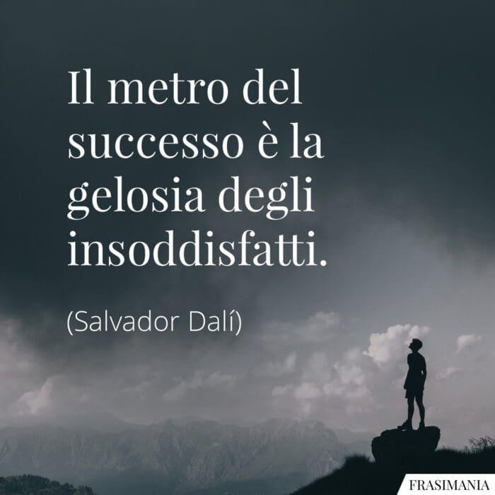 Frasi successo gelosia Dalí