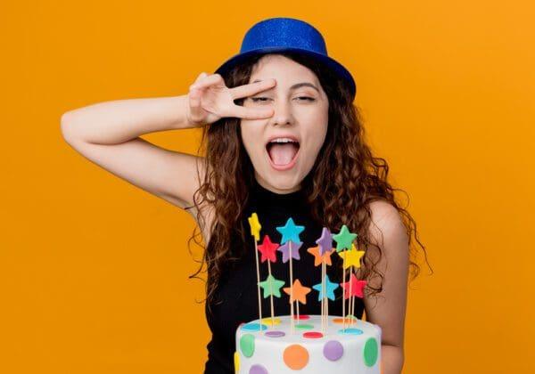 Auguri di Compleanno per una Donna