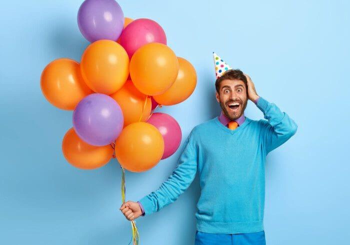 Auguri di Compleanno per un Uomo