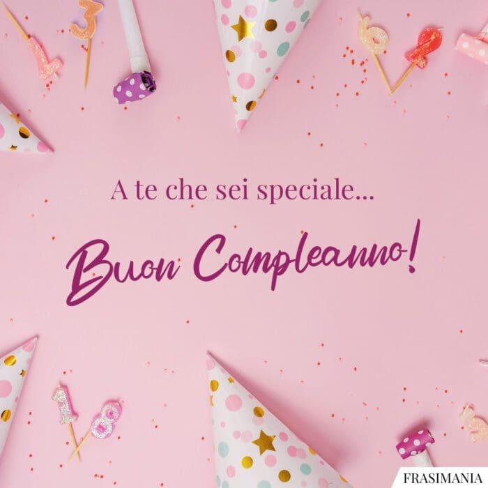 Buon compleanno speciale