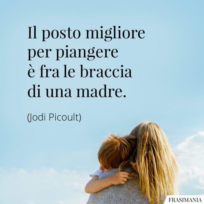 Frasi piangere braccia madre Picoult