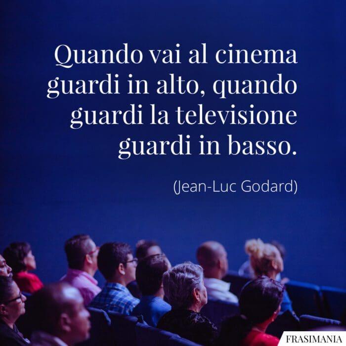 Frasi cinema televisione Godard