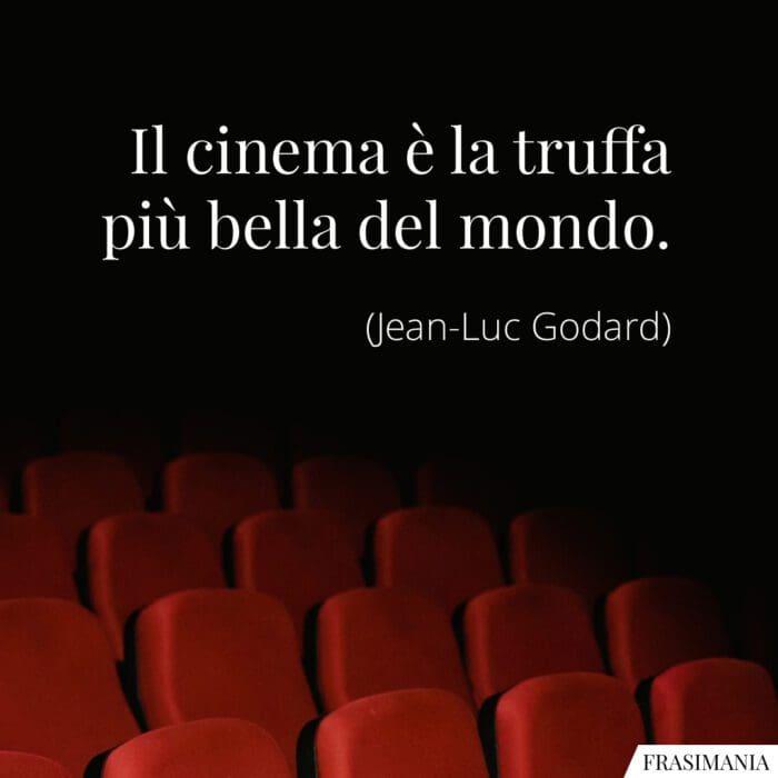 Frasi cinema truffa Godard